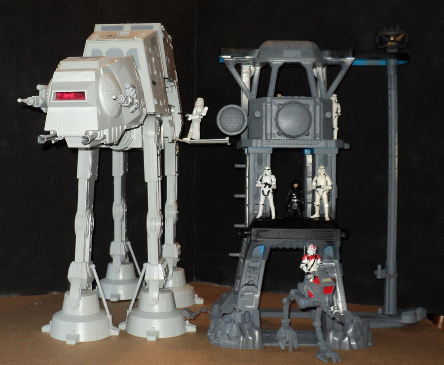 Custom Walker Staging Area WIP by toyphototaker