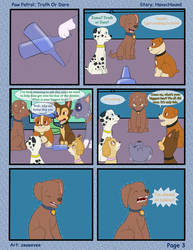 Paw Patrol Comic - Truth or Dare Pg 3 by kreazea