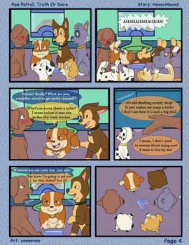 Paw Patrol Comic - Truth or Dare Pg 4 by kreazea