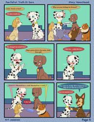 Paw Patrol Comic - Truth or Dare Pg 5 by kreazea