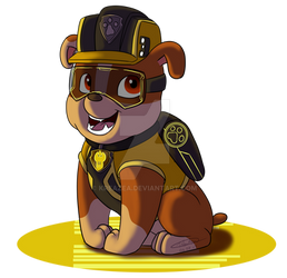 Paw Patrol 'Mission Paw' - Rubble