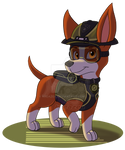 PAW Patrol 'Mission Paw' - Tracker (Fanmade)