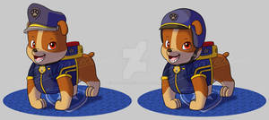 Paw Patrol Ultimate Rescue Police - Rubble