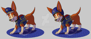 Paw Patrol Ultimate Rescue Police-Tracker(Fanmade)