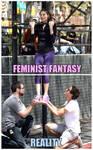 Feminist Fantasy Vs. Reality