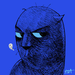 Cat in the Dark by tsaisin