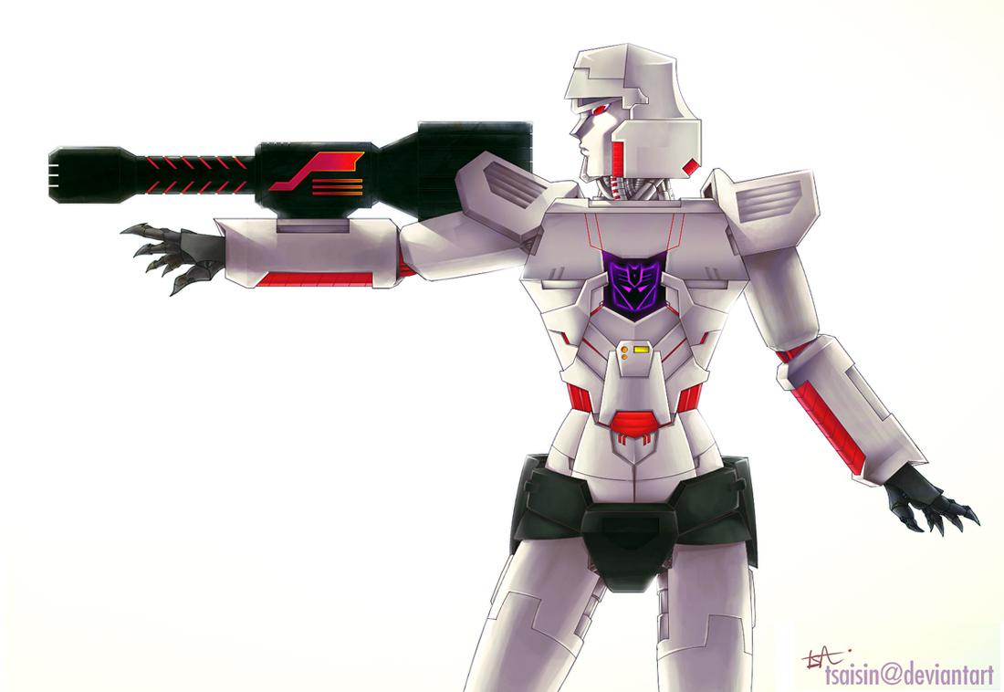 TF: Female Megatron G1 by tsaisin on DeviantArt