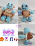 Squirtle amigurumi by maidicraft