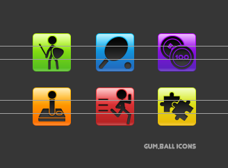 Gum.Ball Icons by lil-naruto