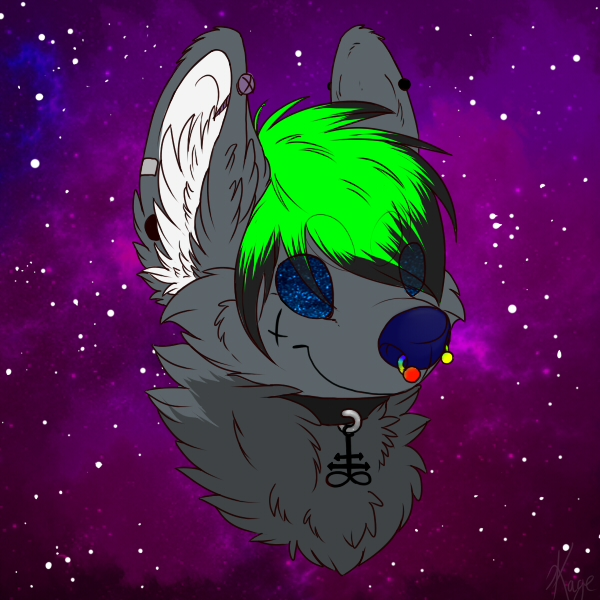 Space Dog by PixelSprout