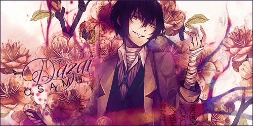 [Banner] :  Dazai Osamu by Shoux-Baka