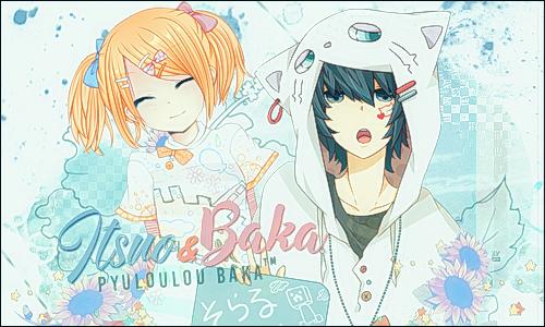 [Banner] : Itsuo et Baka by Shoux-Baka