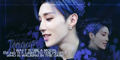 [SIG] : Jongup - I want to be a moon by Shoux-Baka