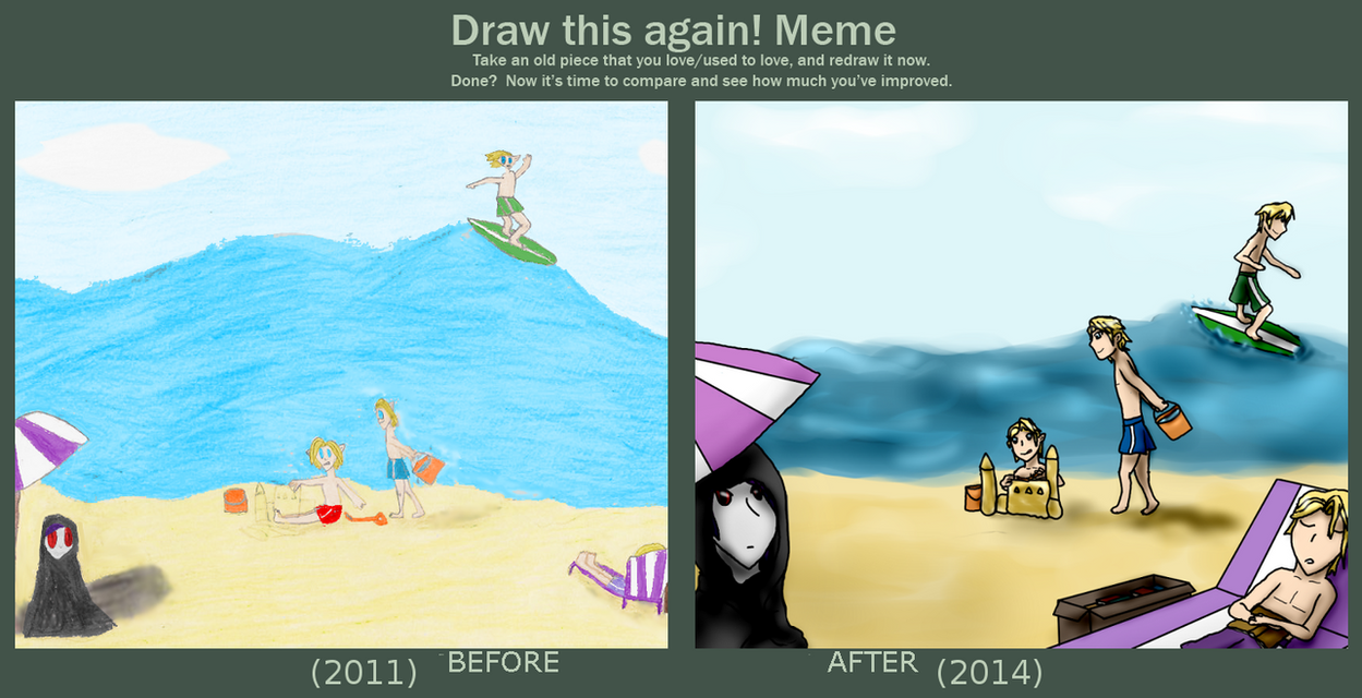 Draw this again four swords beach party by darkie4eva on deviantart draw this again four swords beach party by darkie4eva altavistaventures Image collections