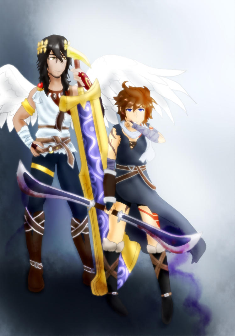 Contest Entry Angel And Warrior By Darkie4Eva Pit The God Of Light