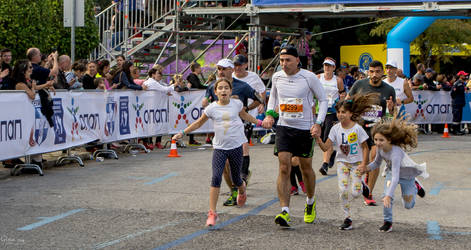 Athens Marathon the Authentic- The Family by ginavd