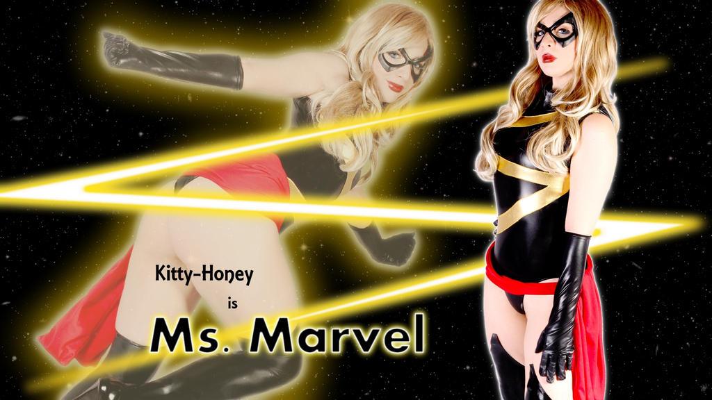 She is Ms. Marvel. by 008Zulu