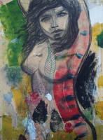 Lady in the bush by JetJames