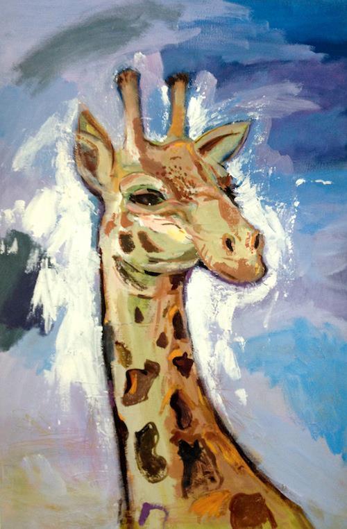 Giraffe by JetJames