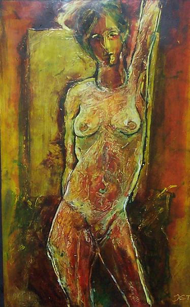 Nude lady by JetJames