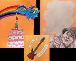 Karusiowe kartki urodzinowe 9