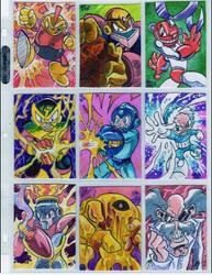 Mega Man 1 sketch cards