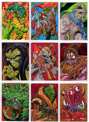 Monsters From Hell Cards1