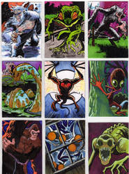 Cryptid Sketch Cards