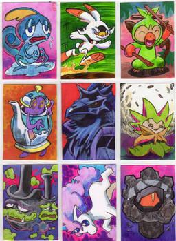 Galar Pokemon Sketchcards