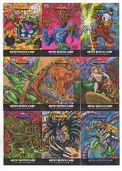Upper Deck/ Marvel Anime Sketch Cards Page 2