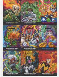 Upper Deck/ Marvel Anime Sketch Cards Page 3