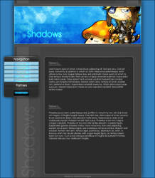 Shadows-V2 Template by iCrucifix