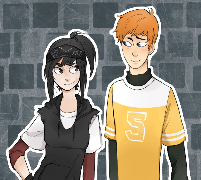 April and Casey [Genderbent] by TSCLonix