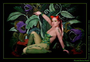 Poison Ivy I - My pets by Painted-Bodies