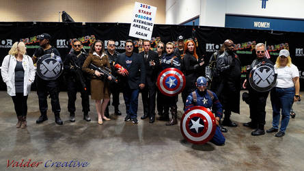 We Are SHIELD Cosplay @ Tampa Bay Comic Con 2019 1 by