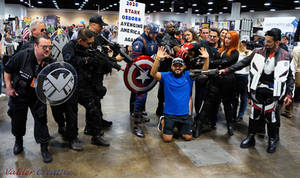 We Are SHIELD Cosplay @ Tampa Bay Comic Con 2019 (