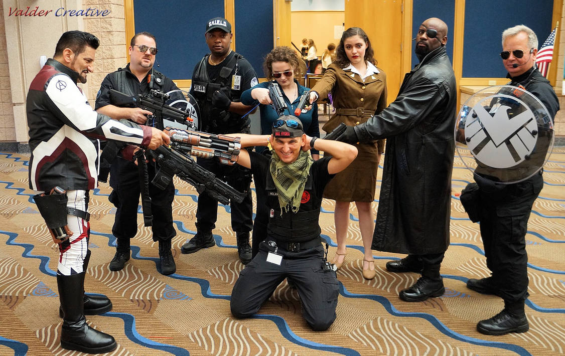 We Are SHIELD Cosplay @ Tampa Bay Comic Con 2019 ( by