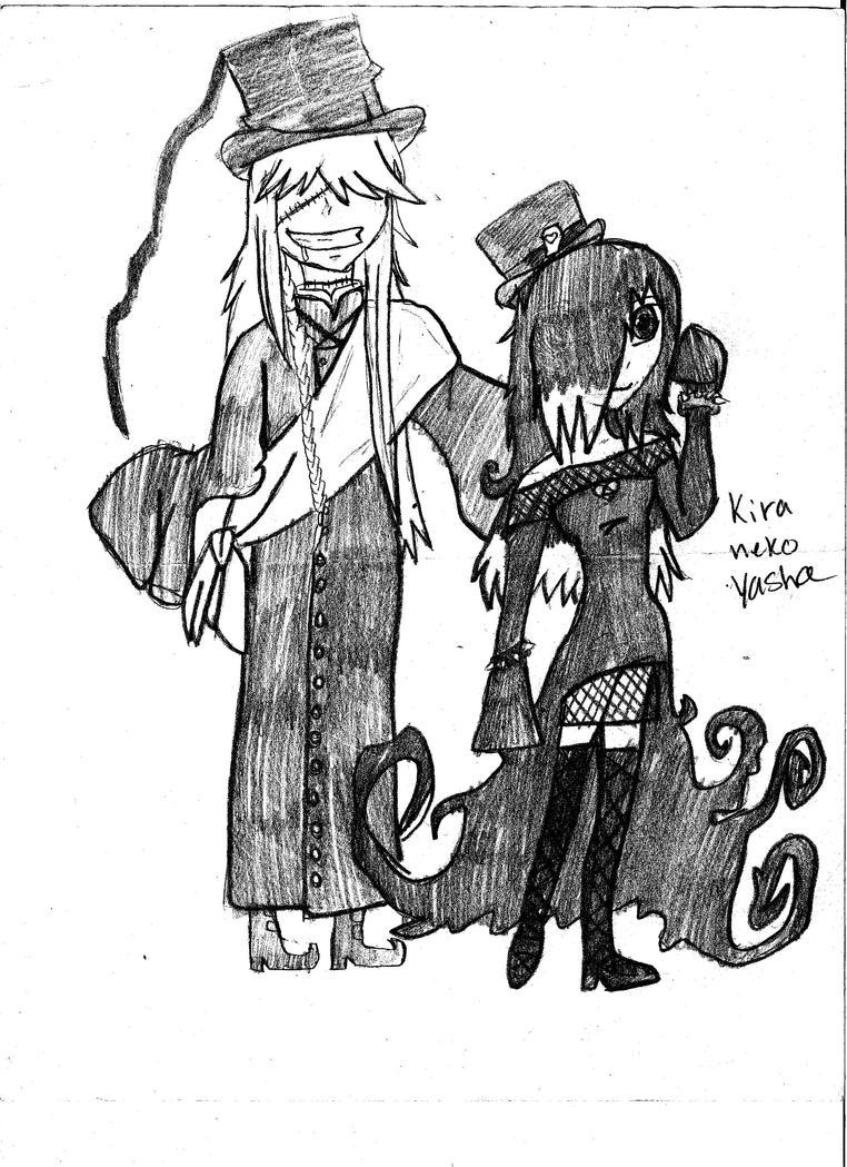 undertaker and his dau...
