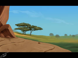 The Lion King bg by SilvertoneAnimals