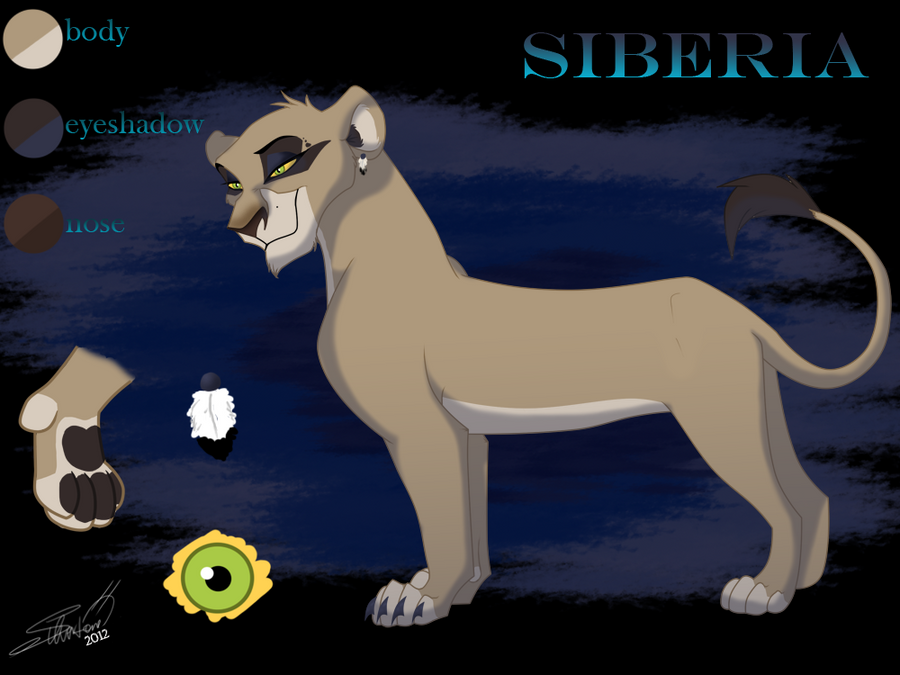 G a l e r i e of the K i n g 8D  - Page 2 New_siberia_ref_by_silvertoneanimals-d4mfip3