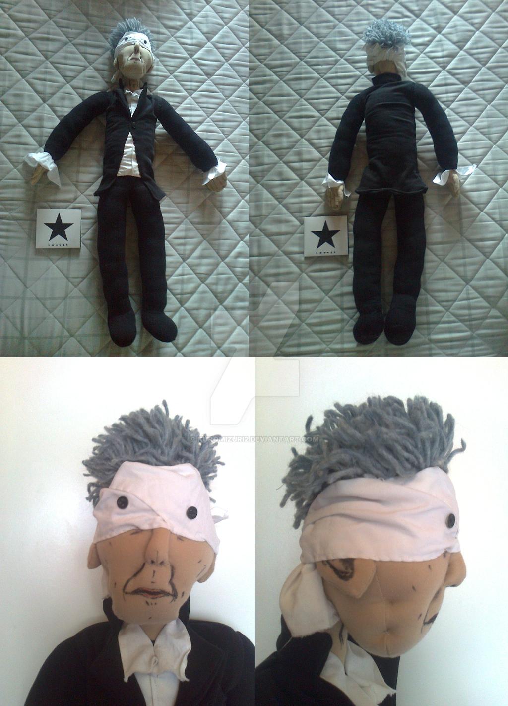Blackstar plush doll by Kuromizuri2