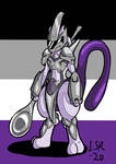 Ace Pride Knight Mewtwo by Iluarts