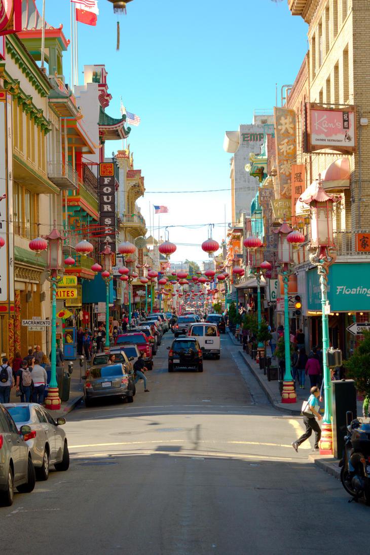 Chinatown San Francisco by michaelmke