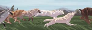 A Chase by billygoatsgruff