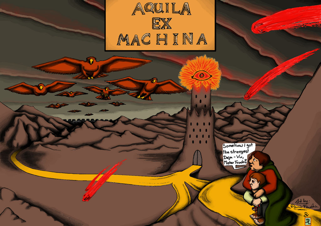 Aquila Ex Machina Tolkien Fanart By Thedragonsart On Deviantart