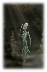Nakhan 'Living Mummy' Swordswoman