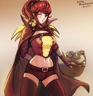 #186 Anna (Fire Emblem Awakening)