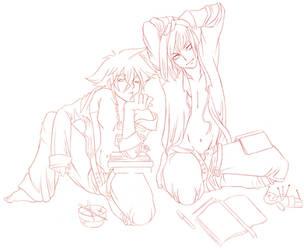 Kingdom Hearts : School Days by kirei-tenshi