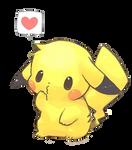 Kawaii Pikachu-Render/Png by SweetKawaiiLove