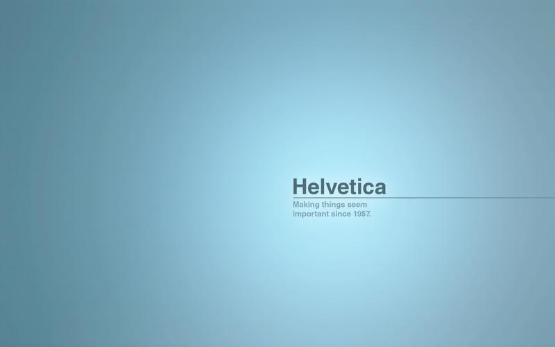 Helvetica by cyrilBlack